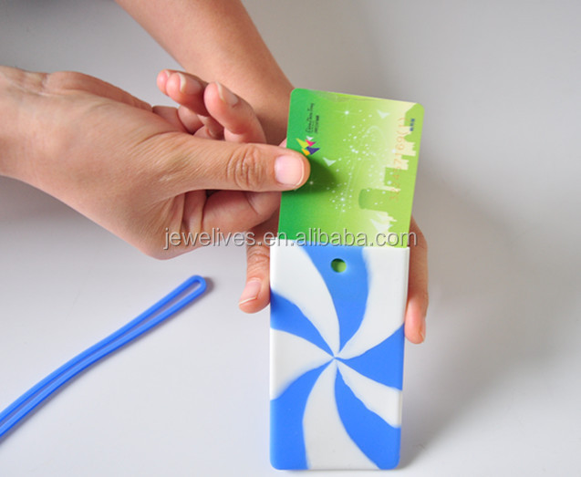 Silicon credit card holder, name card holder, ID card holder