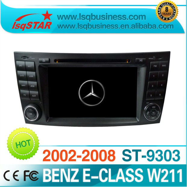 Android 4.0 Mercedes W211/ CLS W219 Car DVD with GPS, Radio, bluetooth, ipod, canbus steering, usb sd, 3g wifi full functions
