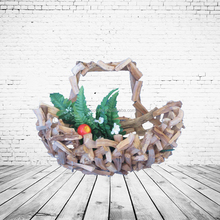 Wood Craft Environmental Wooden Fruit Basket
