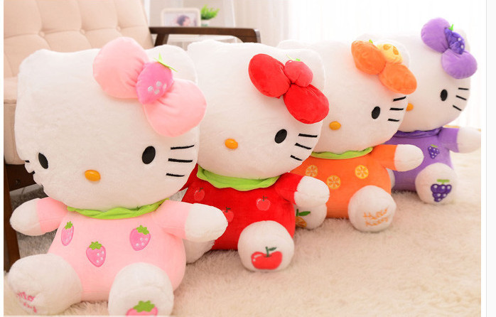 30cm hello kitty <strong>plush</strong>, toys for children kids baby toy cat animal stuffed doll for girl big hello kitty stuffed animal