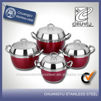 stainless steel gas cookware silicone pot handle covers