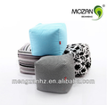 indoor furniture canvas fabric bean bag cube sitting stool