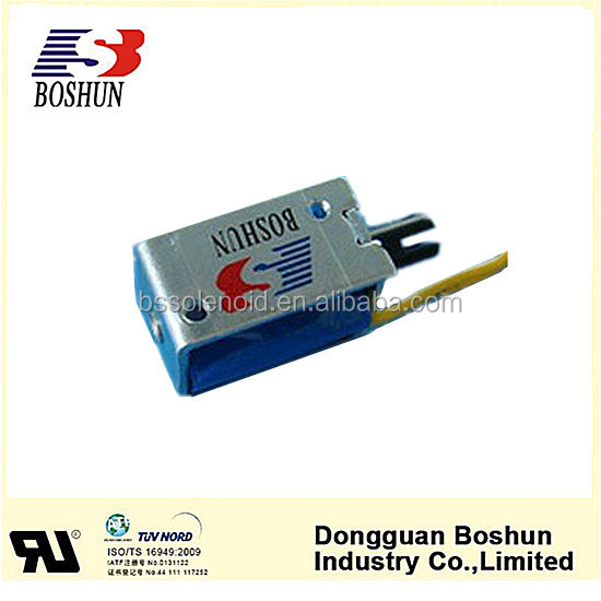 China Boshun The BS-0730-02 Frame Solenoid Electromagnetic Solenoids Pull Push/solenoid