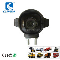 High quality ccd car side mirror camera, truck side view camera, small hidden camera for cars with guidelines switcher
