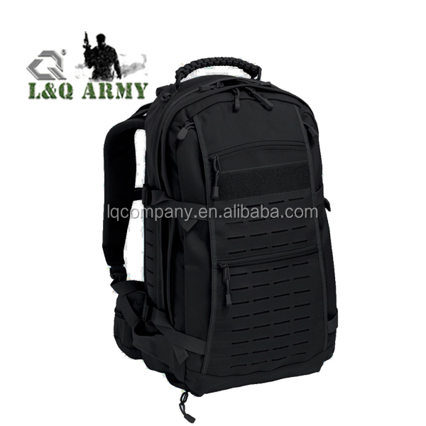 45L General outdoor camo&solid versatile EDC Laser-cut Combat Assault Pack tactical backpack for Military Law Enforcement
