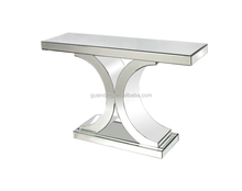 2015 hallway mirrored console table