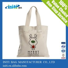 2015 High quality Cheap Organic Natural Cotton Bag Blank Canvas Wholesale Tote Bag Shopping Bag