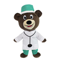 Professional Doctor Plush Teddy Bear Toy Children Educational Stuffed Toy