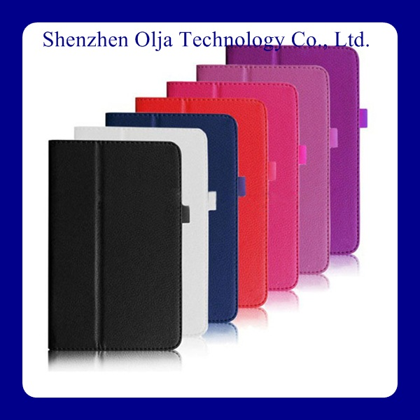 hot selling new arrival leather case for lenovo A1000 A3000 tablet tand