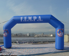 $200-250 Custom Inflatable Arch for Races& Events with Air Blower