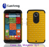 Hottest in popular fancy mobile covers for Motorola moto X+1 diamond combo case