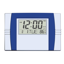 Large LCD countdown calendar wall clock of hot selling china supplier yiwu