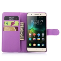 Best quality OEM for huawei honor 4C leather phone case