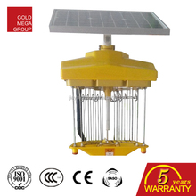 Chile Solar bug zapper/insect killer light for farm/garden/outdoor field sample available