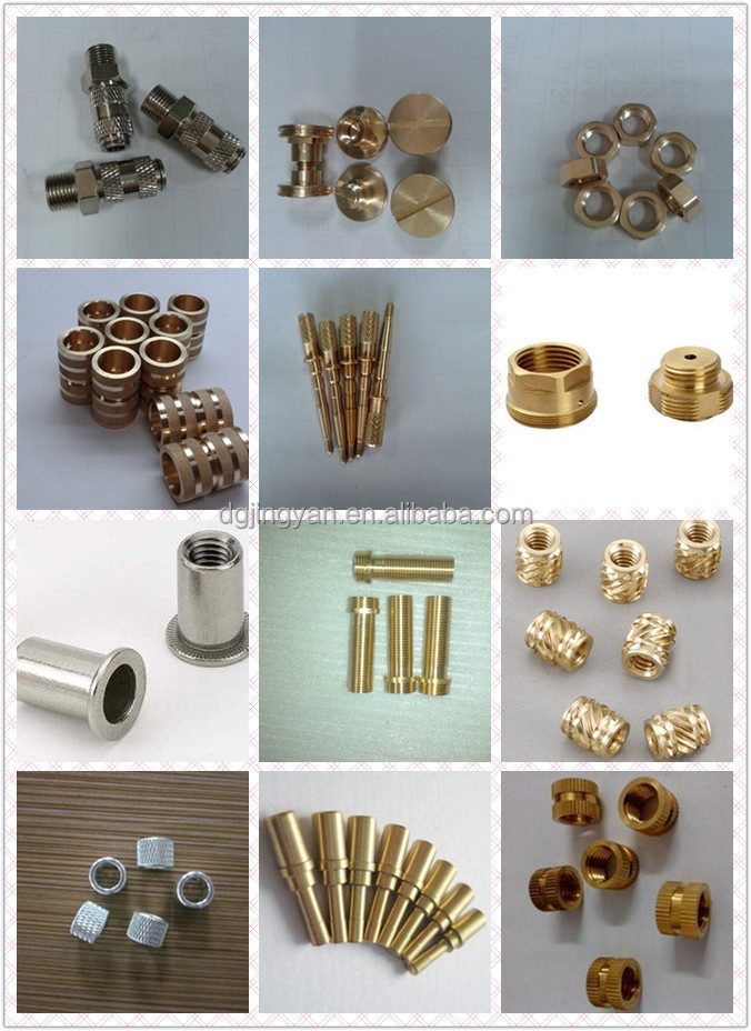 Alibaba supplier nonstandard brass shaft cnc machining groove shaft