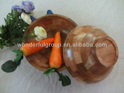 wooden acacia service set bowl mug
