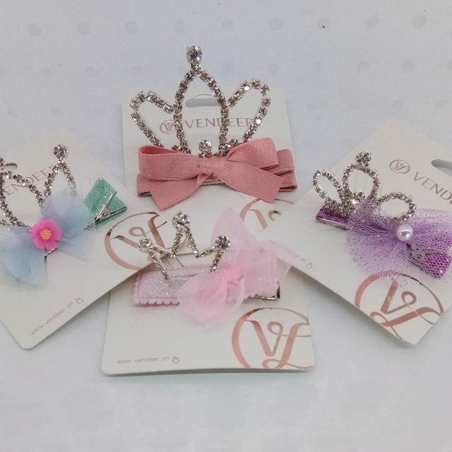 imperial crown catena hair clips