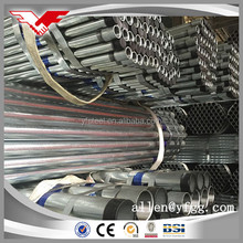 Construction Building Material Hot Dipped Galvanized Steel Pipes Price