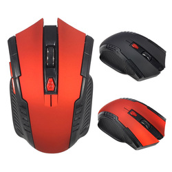2018 New Wireless Mouse 1600DPI 2.4G Gaming Mouse Gamer Silence Built-in Battery Computer Mice For PC Laptop