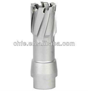 TCT annular cutter with thread shank