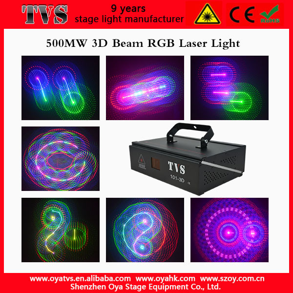 Most popular dj laser show VS-101 3D night club lighting
