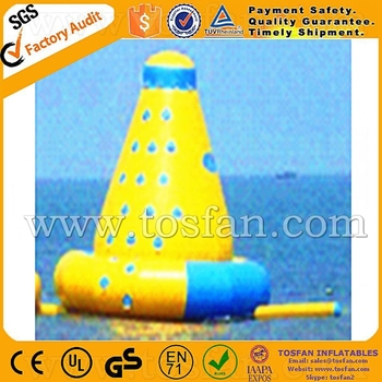 Funny inflatable floating climbing inflatable ladder climb A9045B