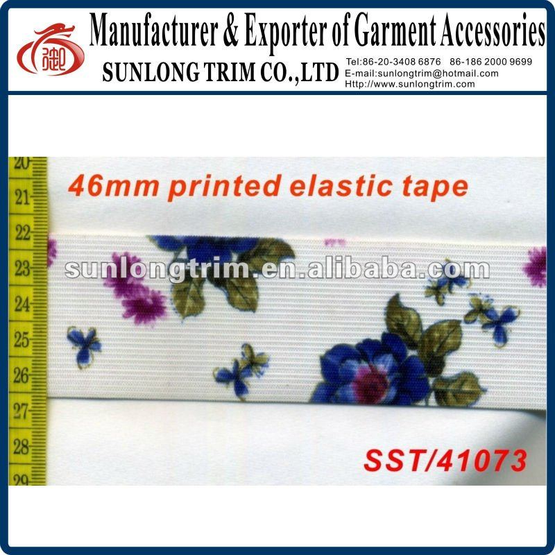 46mm wide printed grosgrain tape
