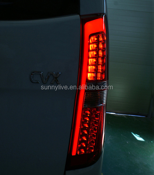 For Hyundai Grand Starex H1 Led Tail Lights Rear Lamps Red