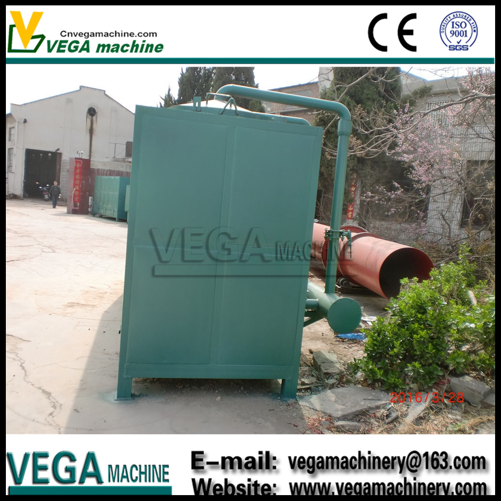 Well Designed Vega brand widely used in malaysia palm kernel shell charcoal carbonization furnace with good quality