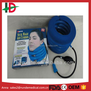 Neck Support Brace & Pneumatic (Air) Traction