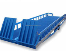 Warehouse Container Loading Mobile Hydraulic Dock Leveler Dock Yard Ramp