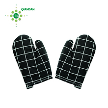 Cotton Oven Mitts microwave heated insulating hand gloves for kitchen