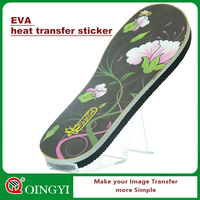 China Manufacture EVA heat transfer sticker for slipper