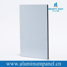 light weight building materials acp 8mm white pvdf aluminum cladding