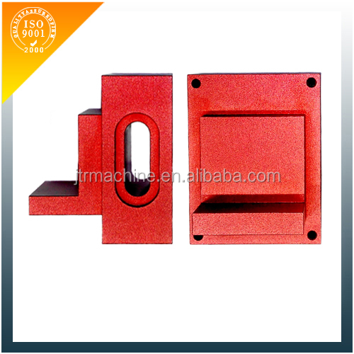 CNC milling red anodizing aluminum end cap
