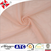soft and smooth mesh design 4 way stretch sheer fabric for fancy cloth
