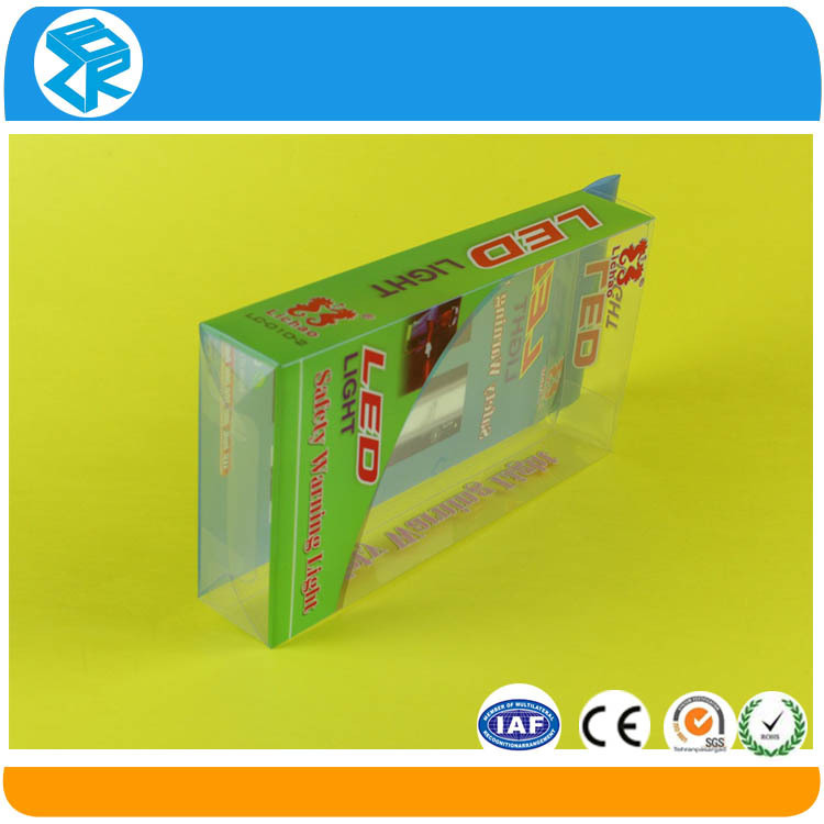 high quality clear acetate box pp packaging