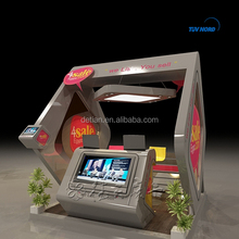 Exhibition booth design and construction exhibition stall manufacturers counter booth