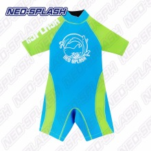 Fashionable Short Sleeves Short Legs warmers Neoprene Swim Suit Wetsuit