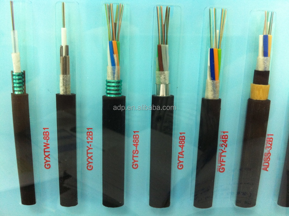 FTTH fiber optical +2core power cable