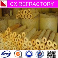 Thermal rock wool pipe for industrial insulation