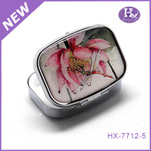 New Product HX-7712-5 Popular Owl Square 1 Month Pill Box