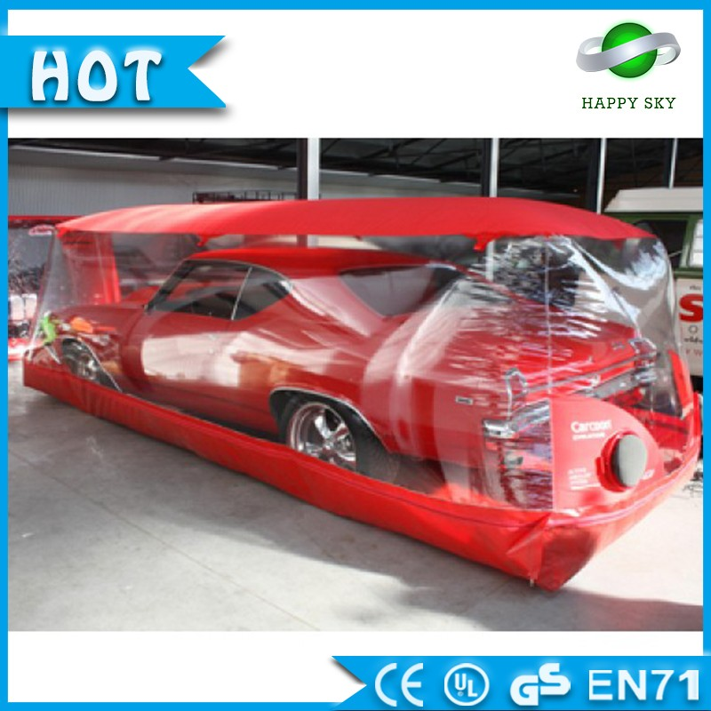 Customized inflatable car garage tent/inflatable spray booth/workshop garage for sale