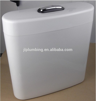 High quality dual flush toilet cistern water saving plastic cistern