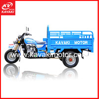 China Wholesale Good Quality Cheap Price 3 Wheel Petrol Engine Foldable Cargo Trailer