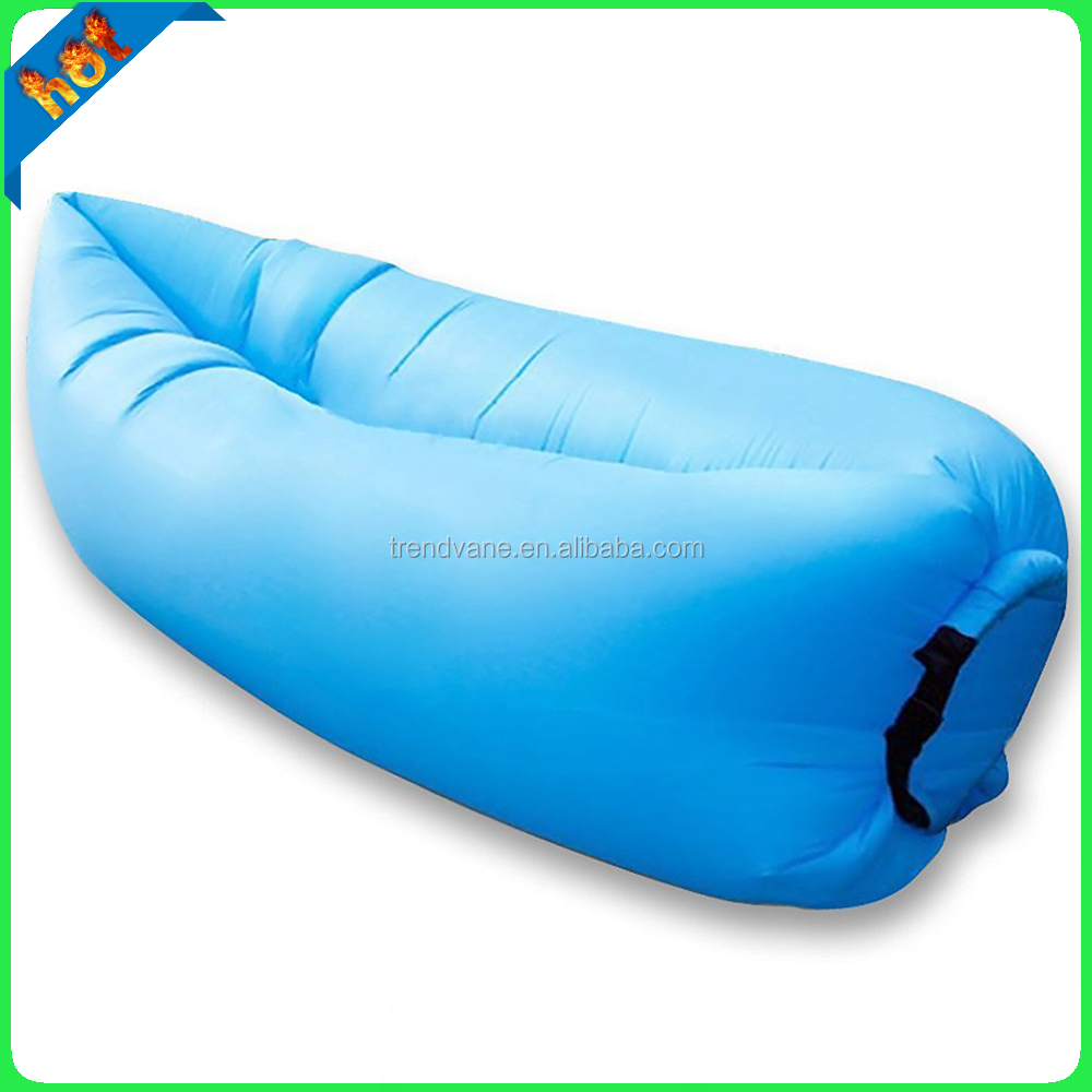 Hangout Fashion Inflatable Air Sofa , Inflatable laybag For Outdoor Activities