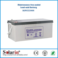 Energy saving high power battery solar 12v 400ah