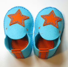 High Quality Soft Wool Felt Baby Shoes Accept OEM