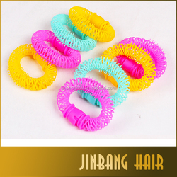 2016 Best Selling Products Customized Size Plastic Hair Bun Donut Hair Accessories In Opp Bag For Women Bun