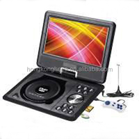 "Factory Offer Cheap Portable Cheap DVD Player Home Real size 9"" TFT LCD SCREEN (DVD +PAL/NTSC/SECAM analog TV system) HY969b"